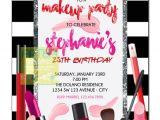 Makeup Party Invitations Free Makeup Invitation Makeup Party Invitation Make by