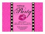 Makeup Party Invitations Free Makeup Party Invitation Advertisement 5 Quot X 7 Quot Invitation