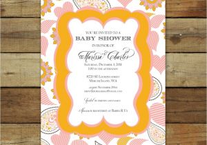 Making Baby Shower Invitations Online theme Make Your Own Baby Shower Invitations Free