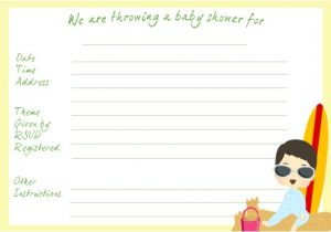 Making Your Own Baby Shower Invitations Make Your Own Baby Shower Invitations and Thank You Notes