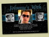 Male 21st Birthday Party Invitations Personalised Birthday Invitations 16th 18th 21st 30th You