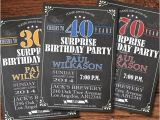 Male 21st Birthday Party Invitations Surprise Birthday Invitation Man Guy Woman Any Age 21st