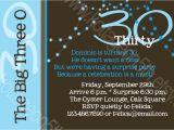 Male 30th Birthday Invitation Wording 30th Birthday Invitations Birthday Party Invitations