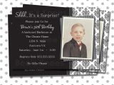 Male 50th Birthday Invitation Ideas Adult Surprise Party Invite Invitation 40th 50th 60th