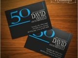 Male 50th Birthday Invitation Ideas Male 50th Birthday Invitation Ideas