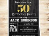 Male 50th Birthday Invitation Ideas Mens Surprise 50th Birthday Party Invitations 50th Birthday