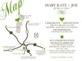 Map Cards for Wedding Invitations Custom Wedding Map Designed to Match Your Invitation