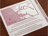 Map Cards for Wedding Invitations Wedding Invitation Customization Maps Letterpress