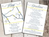 Map for Wedding Invitation Insert Items Similar to Custom Wedding Map and Direction