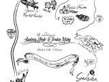 Map for Wedding Invitation Insert Wedding Invitation Map Insert Jordan Mahy Portfolio