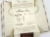 Marauders Map Wedding Invitations Eat Drink and Be Married