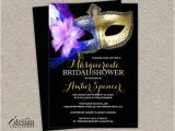 Mardi Gras Bridal Shower Invitations Masquerade Bridal Shower Invitation Diy Printable Mardi Gras