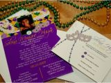 Mardi Gras Quinceanera Invitations Quinceanera Invitations In Spanish