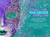 Mardi Gras Quinceanera Invitations Quinceanera Masquerade Invitation Sweet 16 Mask Party