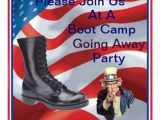Marine Going Away Party Invitations Marine Boot Camp Going Away Party Invitation Bryan L
