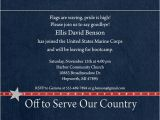Marine Going Away Party Invitations Marine Corps Party Invitation United States Country Military