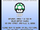 Mario Baby Shower Invitations Items Similar to Super Mario Baby Shower Invitation