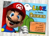 Mario Birthday Invitations Free Super Mario Birthday Invitations – Bagvania Free Printable