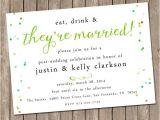 Marriage Celebration Party Invitations Wedding Brunch Invitation Bridesmaids Luncheon
