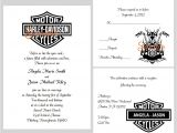 Marriage Harley Davidson Wedding Invitations 100 Personalized Custom Harley Davidson Motorcycle Bridal