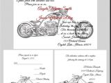 Marriage Harley Davidson Wedding Invitations Wedding Invitation Templates Harley Davidson Wedding
