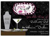 Martini Bachelorette Party Invitations Chic Bar Cocktail Bachelorette Party Invitations Paperstyle