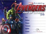 Marvel Party Invitation Template Free Avengers Age Of Ultron Marvel Party Invitations Kids