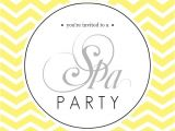 Mary Kay Kick Off Party Invitations 45 Best Spa Party Images On Pinterest