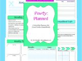 Mary Kay Kick Off Party Invitations Mary Kay Consultant Planner 2015 Printable