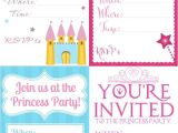 Mary Kay Kick Off Party Invitations Throw A Fabulous Princess Party On A Bud Download Free