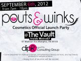 Mary Kay Launch Party Invitations Pouts & Winks Launch Party Memphis September 6 2012 My