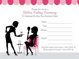 Mary Kay Party Invitation Postcards Mary Kay Party Invitations Mixed with Exquisite
