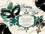 Masquerade Ball Birthday Party Invitations Masquerade Party Invitation Mardi Gras Party Party