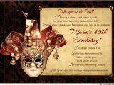 Masquerade Ball Party Invitations Wording Masquerade Ball Invitation Black Tie Tux Fancy Dress