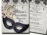 Masquerade Bridal Shower Invitations Bridal Shower Masquerade Party Invitation Masquerade Invite
