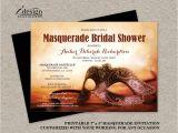 Masquerade Bridal Shower Invitations Masquerade Bridal Shower Invitation Printable Mardi Gras