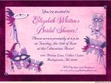Masquerade Bridal Shower Invitations Masquerade Bridal Shower Invitation Purple Mardi Gras