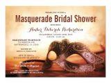 Masquerade Bridal Shower Invitations Masquerade themed Bridal Shower Invitations