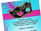 Masquerade Invitations for Quinceaneras Masquerade Quinceanera Invitations