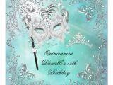 Masquerade Invitations for Quinceaneras Personalized Elegant Masquerade Party Invitations