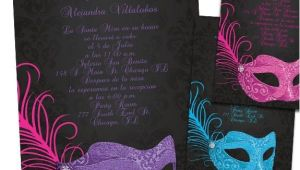 Masquerade Invitations for Quinceaneras Quinceanera Ideas Masquerade Quinceanera Invitations