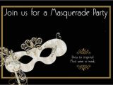 Masquerade Party Invitations Templates Free How to Design Masquerade Party Invitations
