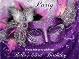Masquerade themed Quinceanera Invitations Masquerade Party Invitation Mardi Gras Party Party
