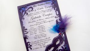 Masquerade themed Quinceanera Invitations Masquerade Quinceanera Invitations Template Best