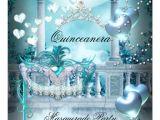 Masquerade themed Quinceanera Invitations Personalized Elegant Masquerade Party Invitations