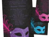 Masquerade themed Quinceanera Invitations Quinceanera Ideas Masquerade Quinceanera Invitations
