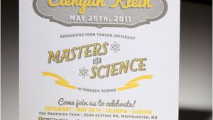 Masters Degree Graduation Party Invitations 10 Graduation Invites that School All the Rest