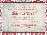 Masters Degree Graduation Party Invitations Masters Invitation Party Invitations Ideas