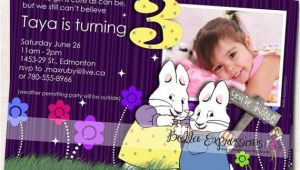 Max and Ruby Birthday Party Invitations Items Similar to Max and Ruby Birthday Party Invitation