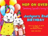 Max and Ruby Birthday Party Invitations Max and Ruby Birthday Party Invitations 24hr Service